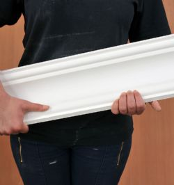 Large Spartan Plaster Coving